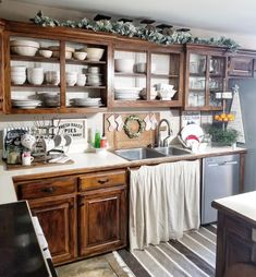 Simple Christmas kitchen!  Amy Kinser
