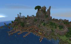 Ten Epic Minecraft Castles For Inspiration | Minecraft Pixel Art Building Ideas