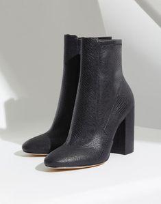 9ee2f086c42 Aurella Black Misc. Women s Ankle boots