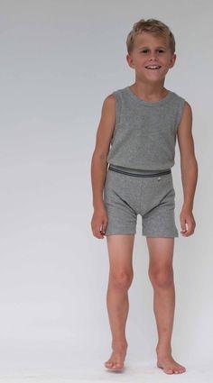 Nui Organics Boys Racerback Singlet. Available in white and silver. #henryandlola