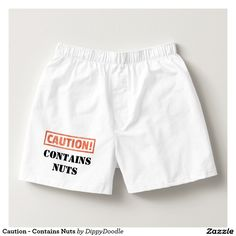 Caution - Contains Nuts Boxers