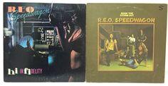 REO Speedwagon Vinyl Record Lot of 2 Albums- Hi Infidelity & Ridin The Storm Out #Aria