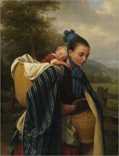 Pintura: Mães e filhos–Galeria 11