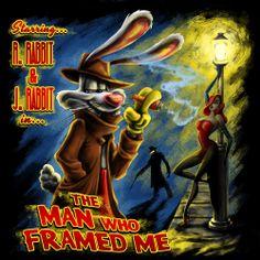 """*ROGER RABBIT ~ """"The Man Who Framed Me."""""""
