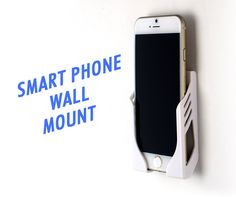 Want your phone to be hung up on the wall? With this smart phone wall mount, you'll be able to mount your. Dorm Room Accessories, Wall Mount, Smartphone, Wall Installation, Dorm Accessories