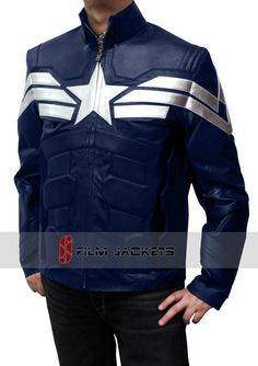 Want Captain Winter Soldier Jacket America FnUPqg