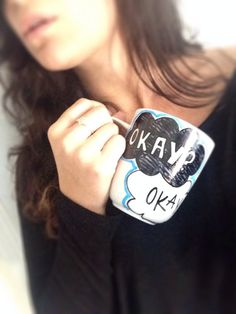 The Fault In Our Stars Mug by PaintedNerdyThings on Etsy, $13.00