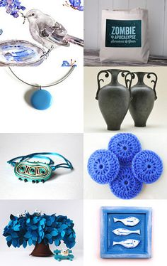 Blue For You by Janet Mealha on Etsy--Pinned with TreasuryPin.com