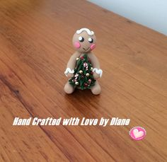 Miniature Polymer Clay Hand Crafted by SmallStuffbyDiane on Etsy