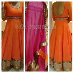 Anarkali Dress or a  Western Fusion Gown by KimPereiraF on Etsy, $350.00