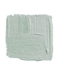 """BENJAMIN MOORE COLONY GREEN 694: """"I grew up in a house that was all turquoise, and for years I couldn't look at blue. But this color is so terrifically pretty and filled with joy — sort of like you were inside a robin's egg looking out into the light. I'd use it in a bedroom with white lacquered trim, a four-poster bed lacquered white, and crisp white bed linens."""" -David Kleinberg"""