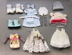 YoSD clothes & shoes ♥, via Flickr.