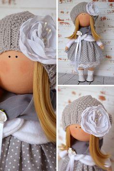 Fabric doll Interior doll Rag doll Art doll by AnnKirillartPlace