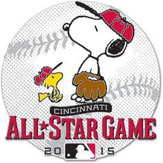 Cincinnati Reds 2015 All-Star Game Snoopy & Woodstock Pin - MLB.com Shop