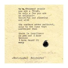 The Universe and Her, and I poem #170 written by Christopher...