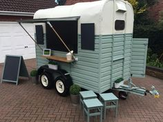 horse box bar catering trailer conversion - Street Food / Mobile Bar business in Business, Office & Industrial, Restaurant & Catering, Catering Trailers   eBay!