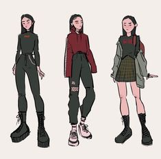 digital art graphic design aesthetic drawing photoshop modern anime style asian japanese chinese ethereal g e o r g i a n a : a r t drawing clothes g e o r g i a n a Aesthetic Drawing, Aesthetic Art, Fashion Design Drawings, Fashion Sketches, Drawing Fashion, Arte Copic, Drawing Anime Clothes, Clothing Sketches, Cute Art Styles