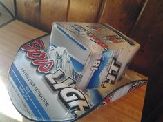 2011 Coors Light Beer Box Hat Miller Coors Official Licensed Product -e