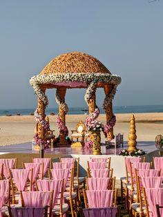 Wedding Stage Decorations, Destination Wedding Planner, Goa, Taj Mahal, Building, Beach, Inspiration, Biblical Inspiration, The Beach