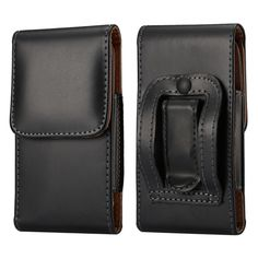 PU Leather Pouch Belt Clip Case Holster for Apple iPhone 7 7 Plus Phone Bag Case for Samsung Note 7 Black Color Wallet Hot XCZ12