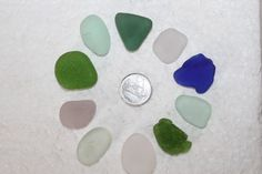 AWESOME BEACH GLASS Top drilled Pendent or by BEACHGLASSSWEPTASHOR, $18.99