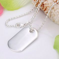 Classic 925 Sterling Silver Necklace Pendant