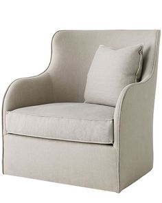 """""""This chair could be the modern element in a traditional room, or the traditional item in a modern room."""""""