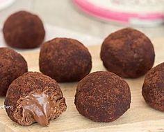 Tartufini cookies alla Nutella 2 ingredienti velocissimi senza cottura