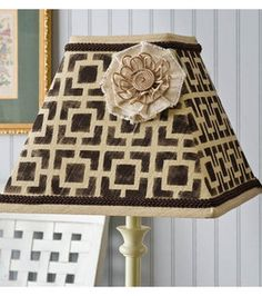 Pattern Lamp Shade : Home Decor Fabric Projects :  Shop | Joann.com