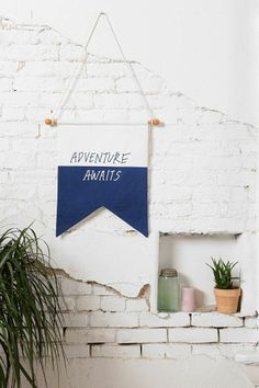 Adventure Awaits Flag #urbanoutfitters
