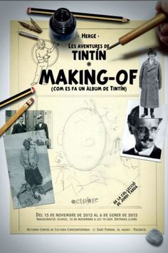 Tintin, Making Of
