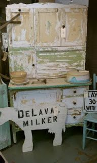 Old hoosier cabinet...I have one, just need to get started on it.