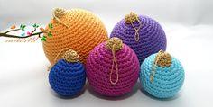 Crochets4U: gratis patroon kerstballen haken