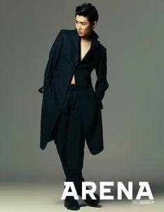 Lee Joon - Arena Homme Plus Magazine January Issue '14
