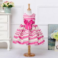 Find More Dresses Information about children 2 7 years old girls striped dress spell color sleeveless dresses princess cute dress costumes 2 color,High Quality dress gloves for women,China dress gift Suppliers, Cheap dress basic from juxuan on Aliexpress.com
