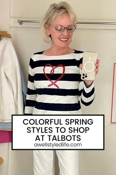 Add some color to your wardrobe this spring! These fun styles from Talbots are sure to brighten up your closet and your day. See my full try-on!