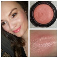 Mac Sheertone Shimmer Blush in Peachykeen: This is my favourite MAC blush. Peachykeen is a lovely  peachy pink blush with subtle gold shimmer. It's very similar to Benefit's Coralista. Love the shade for more neutral looks. I also think, it would look amazing on olive or tanned skin.