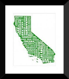 California - GREEN