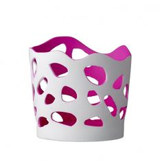 Add a pop of neon pink to any room with this ceramic tealight/candle votive. Matt white finish outside, with a bright pink inside. Tea Light Candles, Votive Candles, Tea Lights, Bella Rose, Flat Ideas, Scandinavian Design, Bright Pink, Neon, Ceramics
