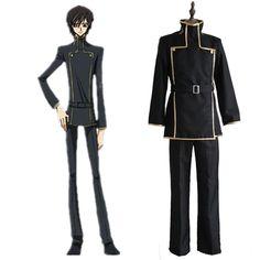 Code Geass Lelouch Lamperouge Brown Jacket uniform Cosplay Costume tops custom