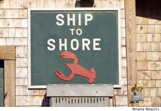 Ship to shore.