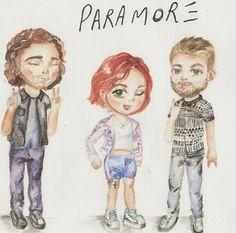 Paramore fan art <3