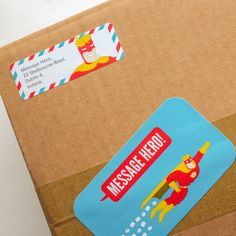 The Message Hero promo parcel.