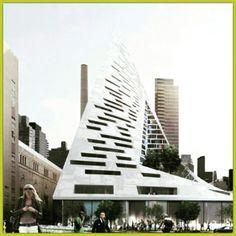 An outstanding modern building design.