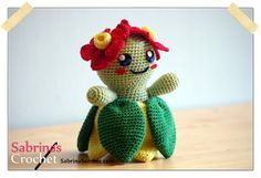 Crochet pattern Bellossom (Pokemon)