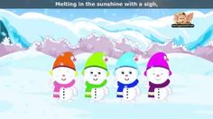 five little snowmen - YouTube