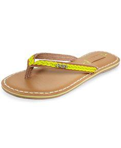 5edc246dd66006 Roxy Beignet Thong Sandals   Reviews - Sandals   Flip Flops - Shoes - Macy s