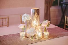 A simple, delicate centerpiece