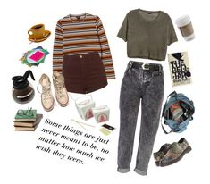 """""""Ask Yourself """"What Would the Gilmore Girls Do?"""""""" by mulderitsneverlupus ❤ liked on Polyvore featuring Monki, H&M, Dr. Martens, Topshop, Converse, River Island, Salvatore Ferragamo, gilmoregirls, rorygilmore and LoreleiGilmore"""