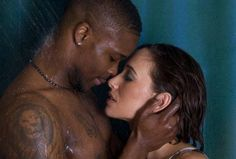 Matchless theme, Interracial couples in shower